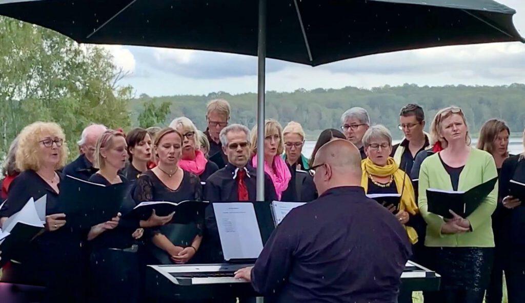 Klangfelder singen am See